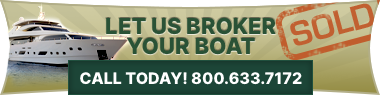Let us broker your boat, RV, or aircraft! Call today: 800-633-7172